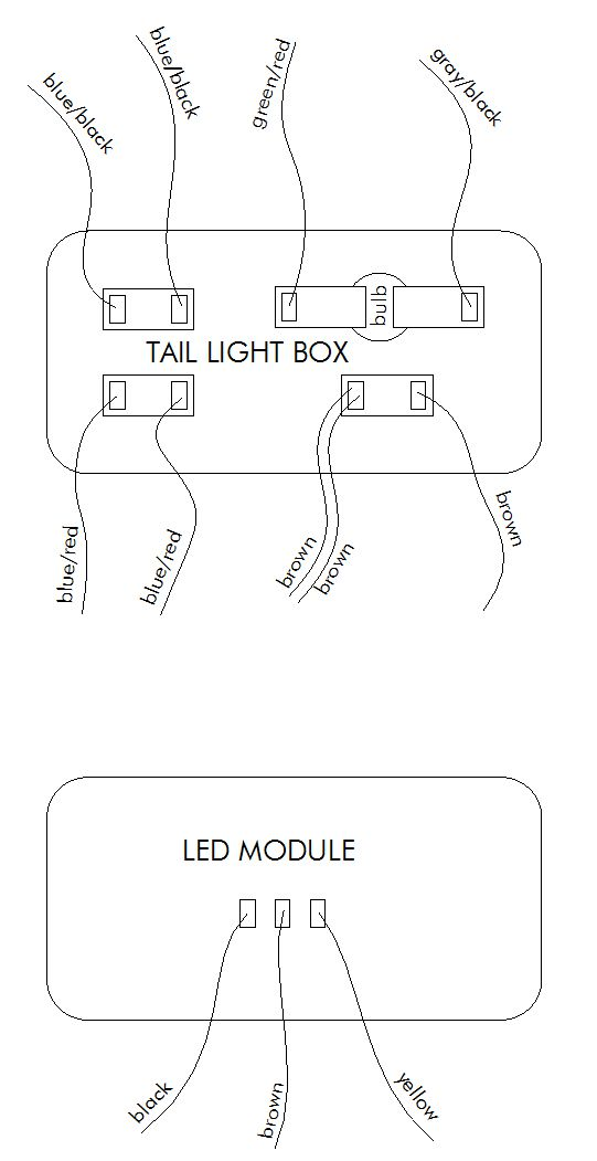 beacon light wiring diagram beacon image wiring how to wire a beacon 1 led taillight module adventure rider on beacon light wiring diagram