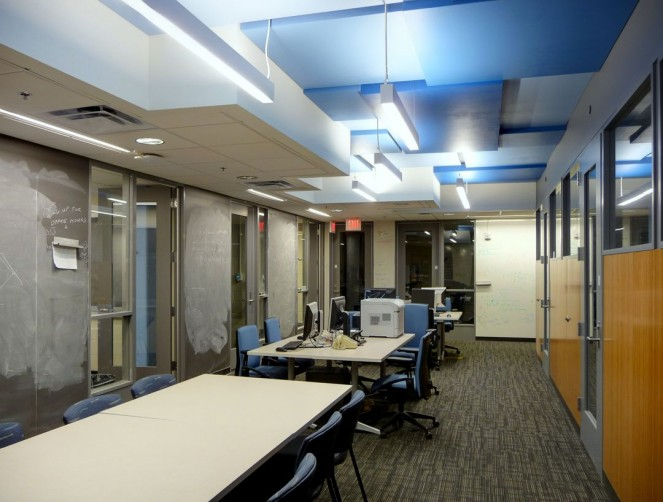 Graduate student offices - Modern Architecture