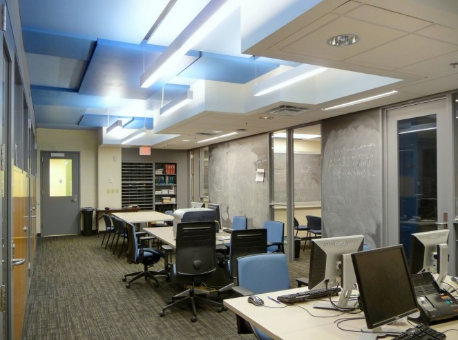 Graduate student offices - John TeSelle Architecture