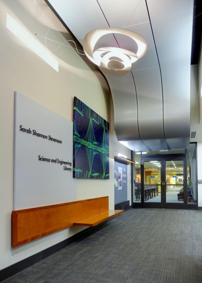 Library Lobby - Nashville Architects