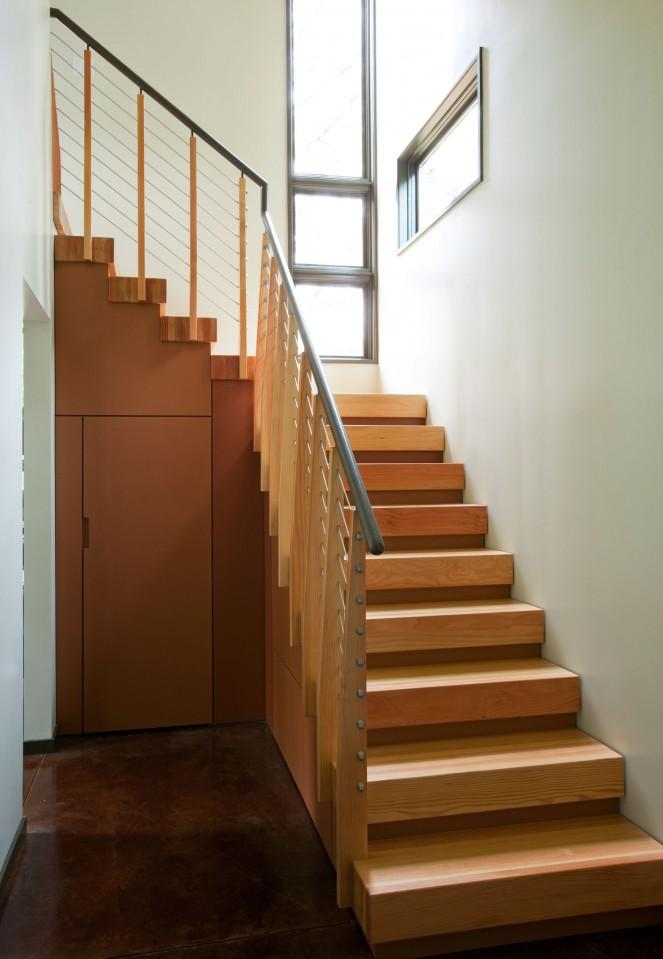 Modern Study Room Design - John TeSelle Architecture