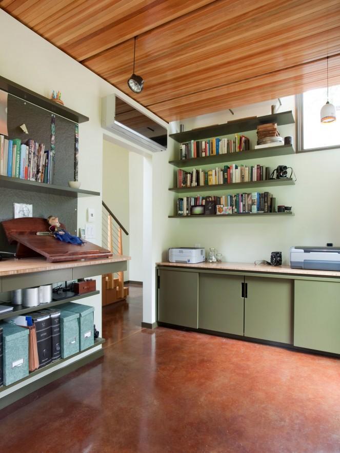 Study Room Design - John TeSelle Architecture